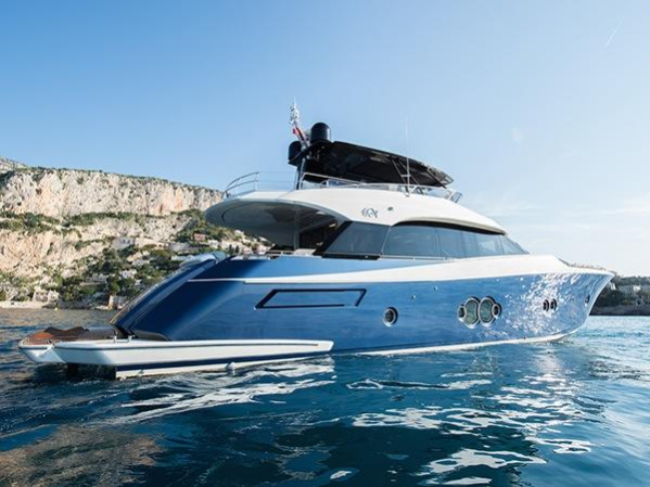 "Sunseeker Poole list immaculately presented Monte Carlo 76 ""AURORE"""