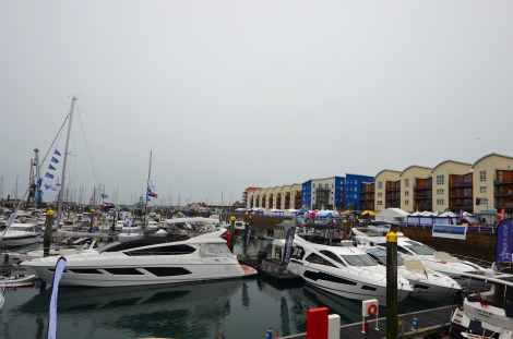 Sunseeker Channel Islands at the 2015 Jersey Boat Show