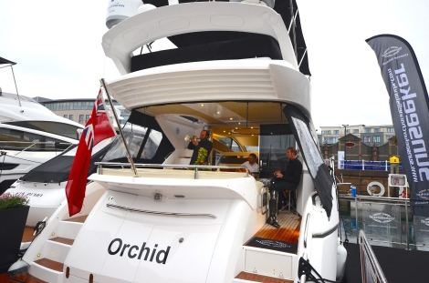 Lombard partnered with Sunseeker Channel Islands for a canape and cocktail evening