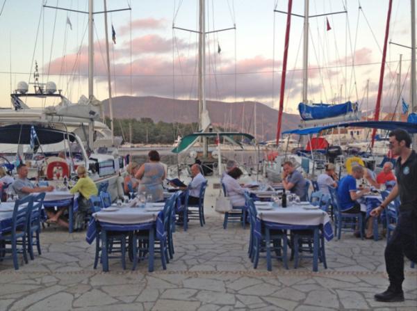 EAT: Tassia Restaurant, Fiscardo, Kefalonia, Greece