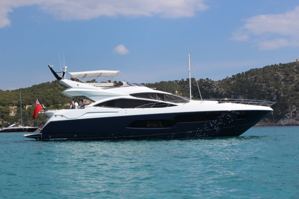 Sunseeker Mallorca announce completion and handover of Sunseeker 80 Sport Yacht