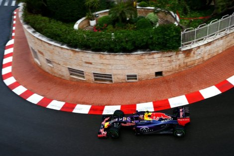 Red Bull Racing at the 73rd Monaco Grand Prix Photo: © Getty Images/Red Bull Content Pool