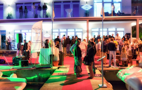 Season opening party at newly refurbished Sunseeker Mallorca offices