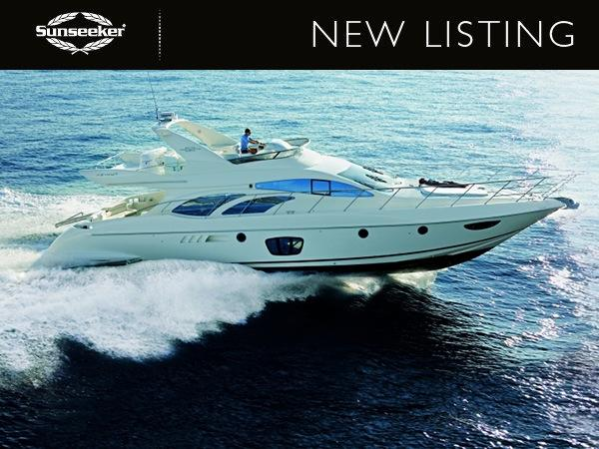 """Sunseeker Channel Islands list Azimut 62 Evolution """"ZAFFINA"""""""