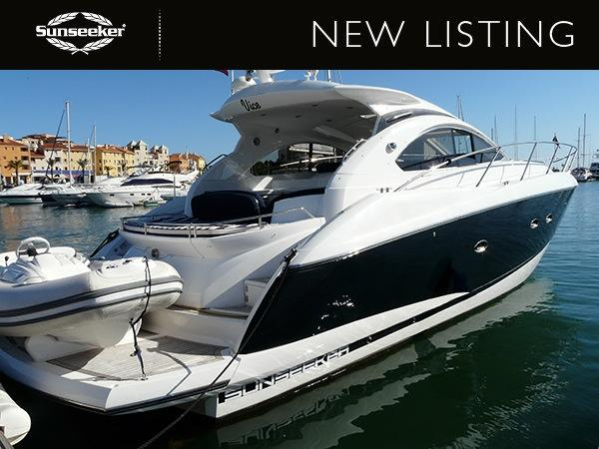 "Sunseeker Portofino 47 ""VICE"" listed by Sunseeker Poole"