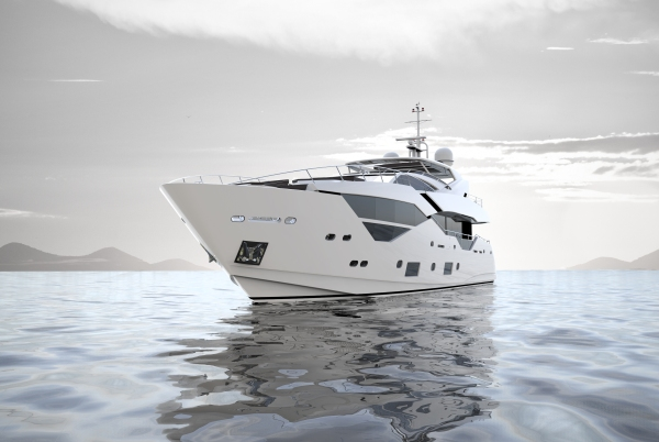 The 116 Yacht shares the proven engineering platform of the hugely popular 115 Sport Yacht, but brings a spectacularly reimagined new deck and superstructure design
