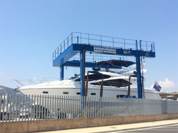 This year Marina Santa Eulalia underwent a full and extensive refit, features include a 75 tonne Travelift