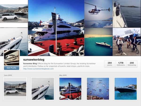#SunseekerSummer is here! Share your Sunseeker images on social media