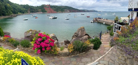 Babbacombe Bay was filled with plenty of boats for the Sunseeker Torquay Rendezvous