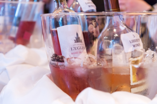 Franco's collates the largest Rosé list of any restaurant in the Great Britain