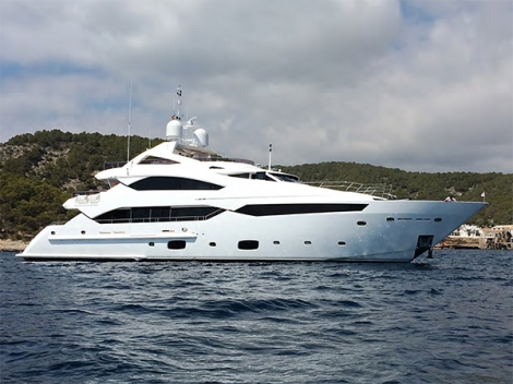 Arguably the highest specified Sunseeker 40 Metre Yacht, to know more please contact Sunseeker Poole