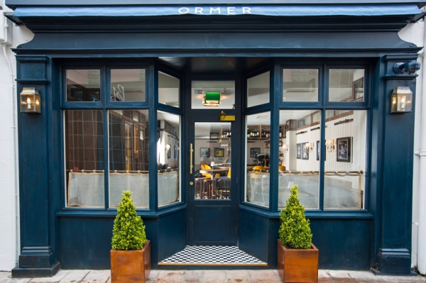 Stylish St Helier's restaurant, Omer (named after a seafood delicacy native to the Channel Islands)