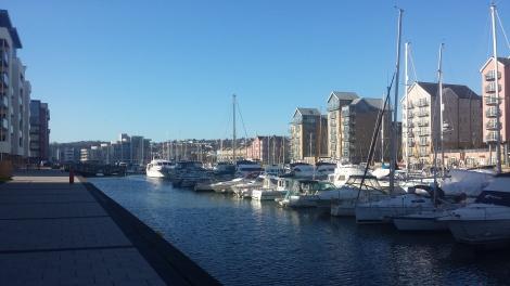 Portishead Quays Marina, The Docks, Portishead, North Somerset, BS20 7DF