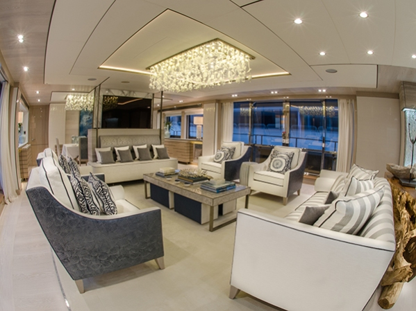 """THUMPER"" boasts some never-seen-before features on a Sunseeker, with interior and deck customisations"