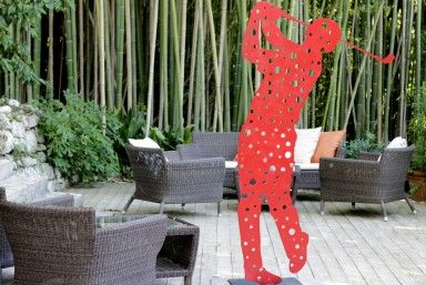 Every season, Moulin de Mougins welcomes a visual artist for a temporary exhibition