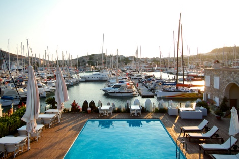 You can also relax by the hotel's swimming pool or take a treatment at the health centre. All within the marina