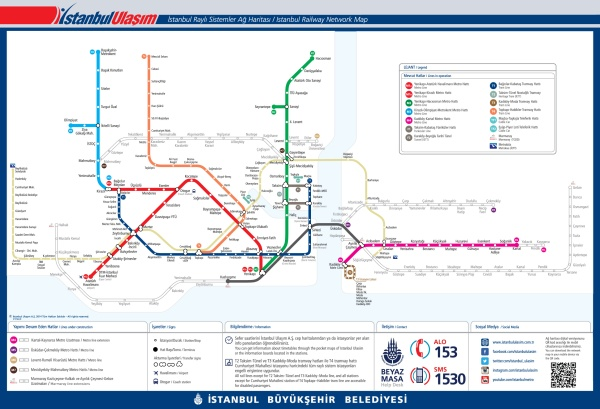 Using the Marmaray Metro Line you can cross continents underground