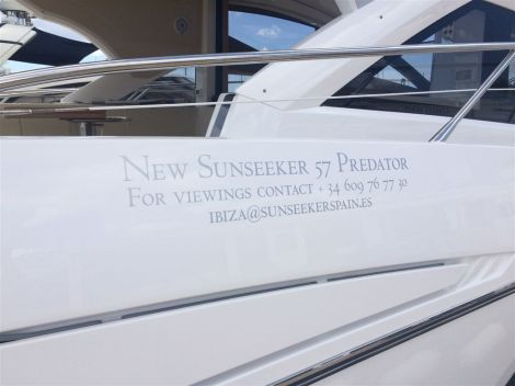 With many thanks to one of the most valuable and loyal Sunseeker Owners, Sunseeker Ibiza was able to carry out individual and private viewings of the brand new Sunseeker 57 Predator