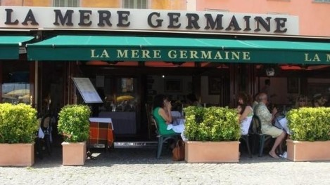 'La Mère Germaine' Restaurant in Villefranche-sur-Mer, is a major gourmet landmark on the French Riviera since 1938