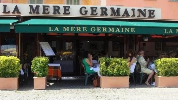 'La Mère Germaine' Restaurant in Villefranche-sur-Mer, is a major gourmet landmark on the French Riviera since 1938