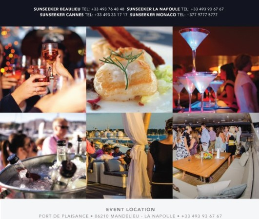 Sunseeker Summer Nights will take place from 7.30pm - 10.30pm on Wednesday 26th August, Thursday 27th August & Friday 28th August 2015, Port La Napoule, Mandelieu - La Napoule