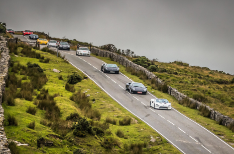 The South West Supercar Run – raising funds for Just a Drop was headed up by with Supercar owners from all over the UK attending