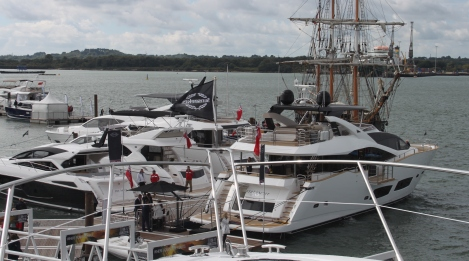 On the water: 28 Metre, 86 Yacht, 65 Manhattan, 57 Predator