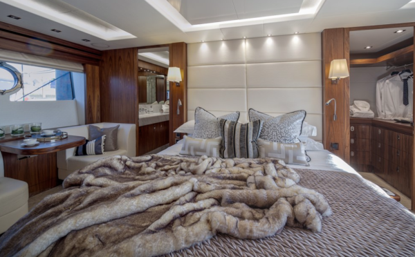 Luxurious NEW 86 Yacht master bedroom