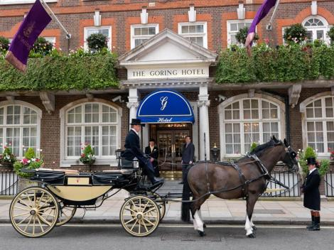 The hotel and bar brings its visitors on a time travel journey to what is quintessentially English