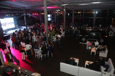 Guests were entertained with live music during The Yacht Walk boat premiere party