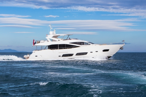 The 28 Metre Yacht BANDAZUL will be on display for guests to view alongside 5 other yachts during the Barcelona Boat Show