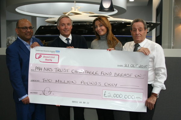 At Sunseeker London we would like to convey our warmest congratulations to the PAH breast unit for this strong effort and extend our gratitude to a charity that is working to save the lives of many women