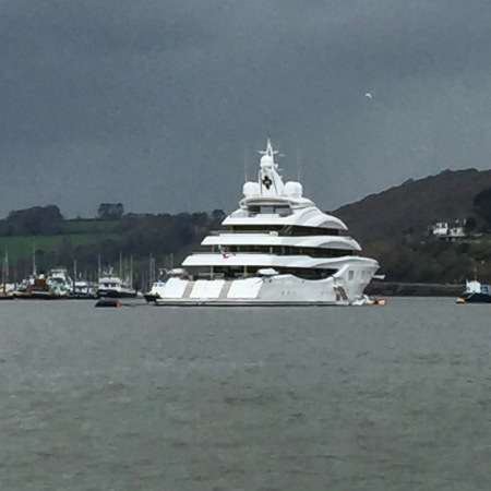Impressive super yacht LADY LARA