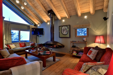 One week at Chalet Arolla costs from £14,000 in low season to £25,000 in high season based on ten sharing.