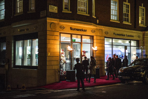 The Mayfair Luxury Party was held at the Sunseeker London offices, Mayfair W1