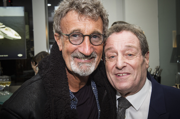 Eddie Jordan, BBC prenenter and famously associated with F1 with David Lewis