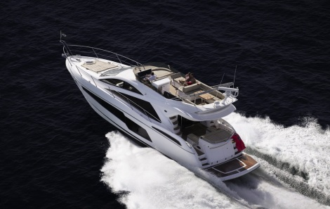 Sunseeker Turkey will showcase a NEW 55 Manhattan at the CNR Avrasya Boat Show