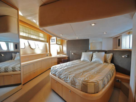 6 guests in 3 cabins can be accommodated on board 'CAVA HYDRATE'