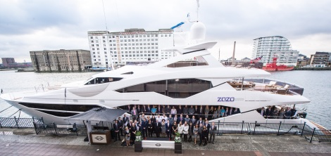 ZOZO at the London International Boat Show