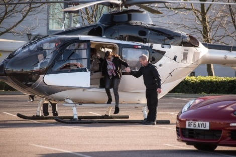 The only way to visit your super yacht; arrive by Airbus helicopter!