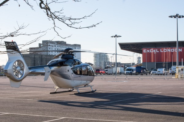Sunseeker guests were invited to fly from their home to the ExCeL Centre for the day