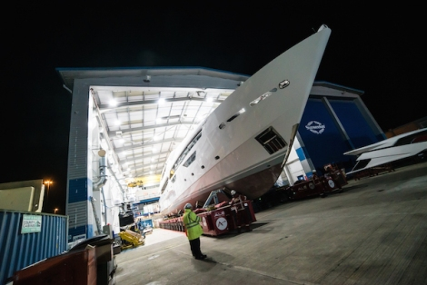 Approximate build time for the Sunseeker 155 Yacht is around 2 years