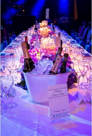 Platinum, Gold and Silver tables of 10 guests available for sale! (Credit Wes Webster Photography)