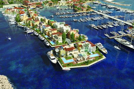 The Peninsula and Island Villas are the only homes of their kind in the Mediterranean