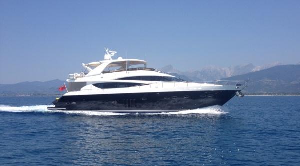 The Princess 85 Yacht ECUREUIL