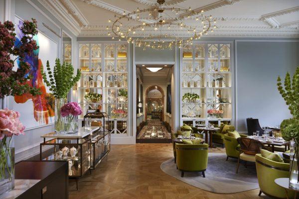 The Rosebery Lounge at The Mandarin Oriental Hyde Park