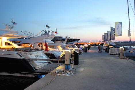 The event will be held at the mega yacht destination in Greece, Flisvos Marina.