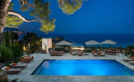 Villa C-View offers spectacular panoramic view of the Mediterranean Sea