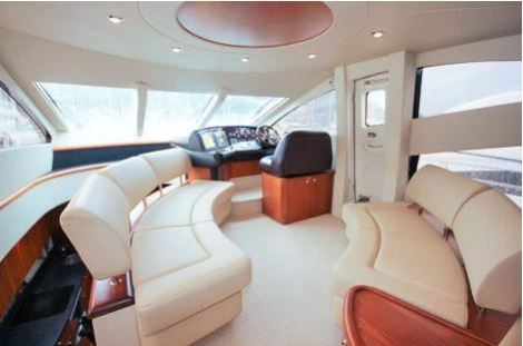 The Sunseeker Manhattan 60 'White Cloud of London' is lying in the South of France.