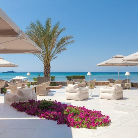 The Sea You Bar, also situated at the Sani Resort